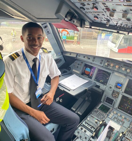 The DRC's Youngest Commercial Pilot Asante Afrika