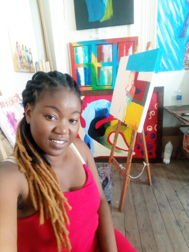 A Chat With Abstract Artist Omega Masuku Asante Afrika Magazine